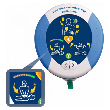 Defibrillatore- HeartSinepad